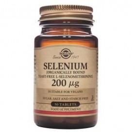 Selenium 200mcg tabs 50s SOLGAR