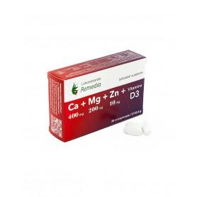 CA+MG+ZN +VITAMINA D3 30CPR