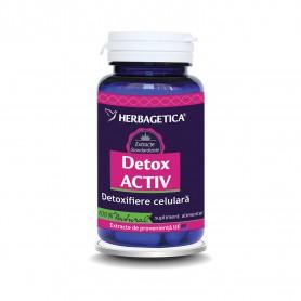 DETOX ACTIV 60 CMP HERBAGETICA