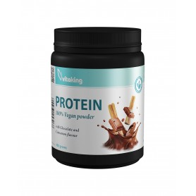 Proteina Vegetala cu Gust de Ciocolata si Scortisoara, 400g