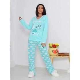 Pijama Dama Bumbac PMK172