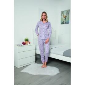 Pijama Dama Bumbac PMK146