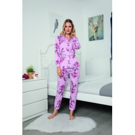 Pijama Dama Bumbac PMK145