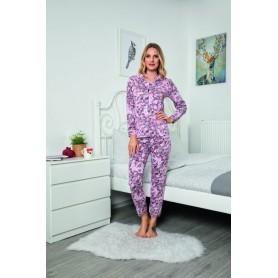 Pijama Dama Bumbac PMK144
