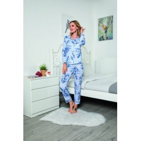 Pijama Dama Bumbac PMK143