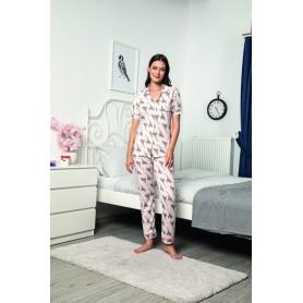 Pijama Dama Bumbac PMK142