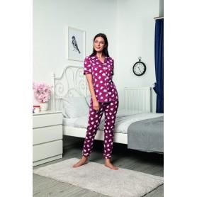 Pijama Dama Bumbac PMK141