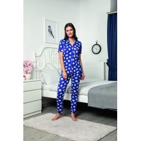 Pijama Dama Bumbac PMK140