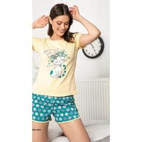 Pijama Scurta Dama PMK089