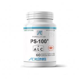 PS-100 (PHOSPHATIDYLSERINE) 60CPS 100MG