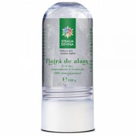 Deodorant Piatra de Alaun, 120g Steaua Divina