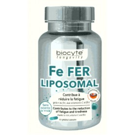 Fier Lipozomal, 30 capsule Biocyte