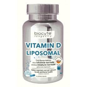 Vitamina D Lipozomala, 30 capsule Biocyte