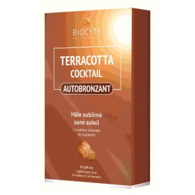 Autobronzant Terracotta Cocktail, 30 capsule Biocyte