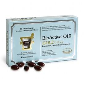 BioActive Coenzima Q10 Gold 100Mg 60 capsule Pharma Nord