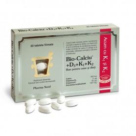 Bio-Calciu+ D3+ K1+ K2, 30 tablete Pharma Nord