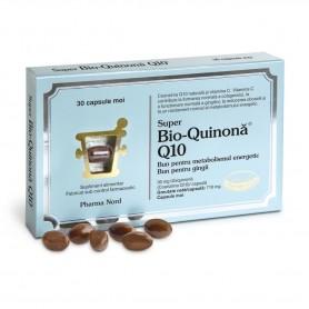 Super Bio-Quinona Q10 30Mg, 30 capsule moi