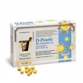 Bio-Vitamina D3 D-Pearls, 80 capsule Pharma Nord