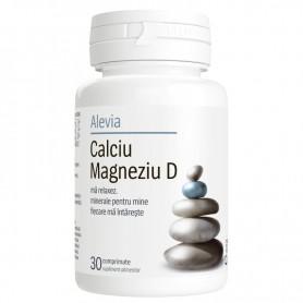 Calciu, Magneziu D, 30 comprimate Alevia