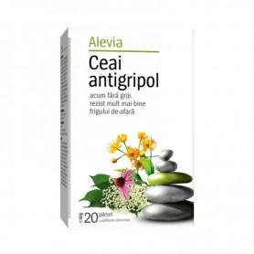 Ceai Antigripol, 20 plicuri Alevia