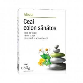 Ceai Colon Sanatos, 50g Alevia
