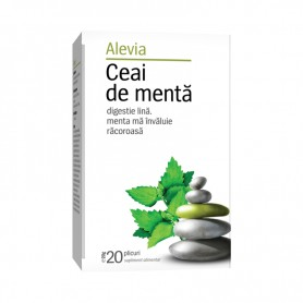 Ceai de Menta, 20 plicuri Alevia