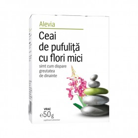 Ceai de Pufulita cu Flori Mici, 50g Alevia