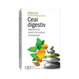 Ceai Digestiv, 20 plicuri Alevia