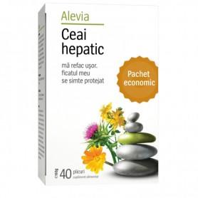 Ceai Hepatic, 40 plicuri Alevia