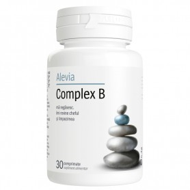 Complex B, 30 comprimate Alevia