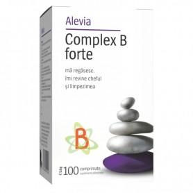 Complex B Forte, 100 comprimate Alevia