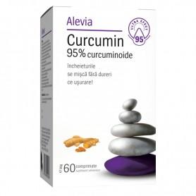 Curcumin 95% curcuminoide, 60 comprimate Alevia