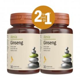 Ginseng 30+30 comprimate Alevia