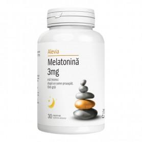 Melatonina 3Mg 30 capsule Alevia