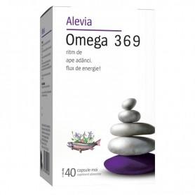 Omega 3 6 9, 40 capsule Alevia