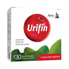 URIFIN 30 CP.+CEAI URIFIN  20 PLICURI ALEVIA