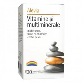 Vitamine si Minerale 30cps Alevia