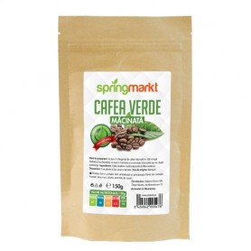 Cafea Verde Macinata, 150g Springmarkt