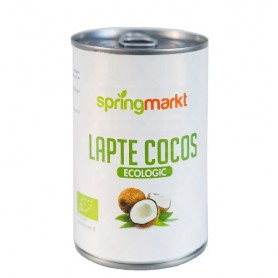 Lapte de Cocos Bio, 400ML Springmarkt