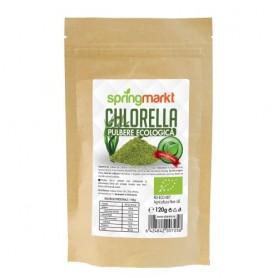 Chlorella Pulbere Bio, 120g Springmarkt