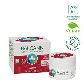 Unguent Organic din Cânepă, Balcann Organic, 15ML