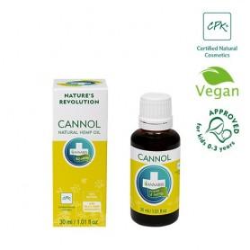 Ulei Natural cu Cânepă, Cannol, 100ML