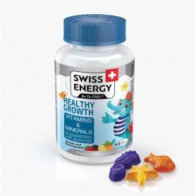 Vitamine si Minerale, Healthy Growth 60 Drajeuri Moi pentru Copii, Swiss Energy