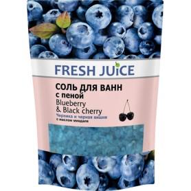 Sare de Baie Spumanta Blueberry & Black Cherry - 500 g