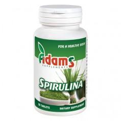 Spirulina Alga, 400Mg 30 tablete Adams