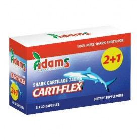 Cartilaj de Rechin, Cartiflex 740Mg 30 cps 2+1 GRATIS