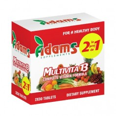 Multivita 13, 30 tablete 1+1 GRATIS