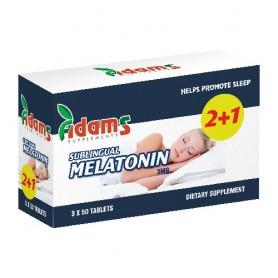 Melatonina, 3Mg 50 tablete 2+1 GRATIS