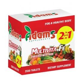 Multivita + Fe, 30 tablete 1+1 GRATIS