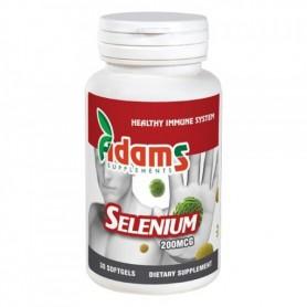 Selenium organic 200mcg 30cps.